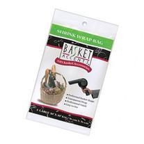 Basket Accents Shrink Wrap Bag Large 30X30 1/Pkg-Clear