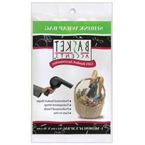 Basket Accents Shrink Wrap Bag Medium 24X30 1/Pkg-Clear