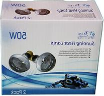 Sunning Heat Lamp 50 Watt 2 Bulb Value Pack For Use With
