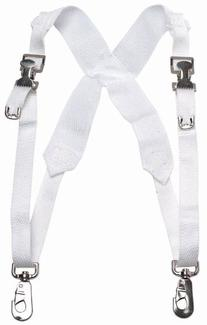 Belmonte Bass Drum Harness Webbed White