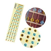New Bass Guitar Fretboard Note Labels Fret Stickers