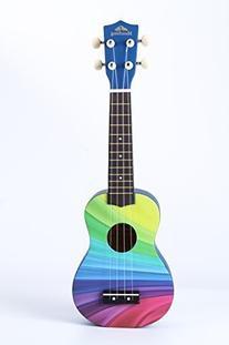 Honsing Soprano Ukulele New Basswood Uke Hawaiian Guitar 21