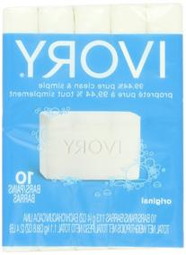 Ivory Original 10-Count: Bath Size Bars , 38.8 Ounce
