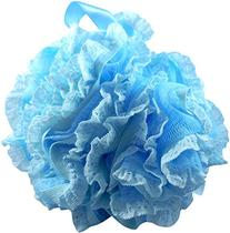 Loofah Bath Sponge Lace Set by Shower Bouquet: Mesh Pouf -