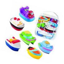 Elegant Baby Bath Squirtie Toys - Boats