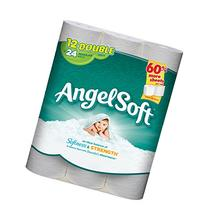 Angel Soft Toilet Tissue, White - Double Roll - 12 pk