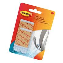 Command Bath Water-Resistant Replacement Strips, White, 2-