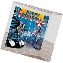 Batman Party Scene Setter Wall Decorating Kit