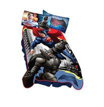 """Warner Bros. Batman Vs Superman Heroes Dual Blanket, 62"""" x"""