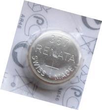 Renata Battery 357 Sr44W Silver 1.55V Swiss Made