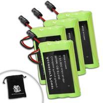 4-Pack Battery for BP-446 , BP446 / BT-446 , BT446 / BT-461