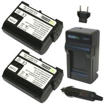 Wasabi Power Battery  and Charger for Nikon EN-EL15 and