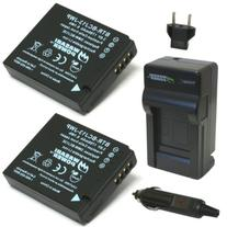 Wasabi Power Battery  and Charger for Panasonic DMW-BCJ13,