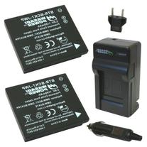 Wasabi Power Battery  and Charger for Panasonic DMW-BCK7,