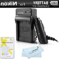 Nikon EN-EL12 Battery Charger Kit For Nikon Coolpix S9900,