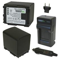 Wasabi Power Battery and Charger Kit for Canon BP-819, VIXIA