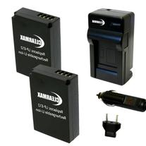 Wasabi Power Battery  and Charger for Canon LP-E12 and Canon