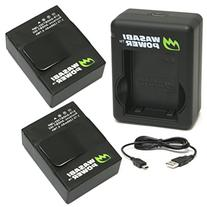 Wasabi Power Battery  and Dual Charger for GoPro Hero3,