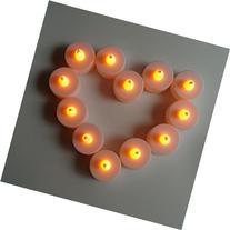 Litup Battery-Powered Yellow Smokeless Flameless LED Candle