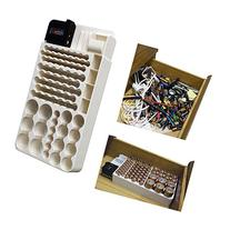 Battery Storage Organizer Rack 82 Holder Tester Case Box