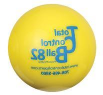 Total Control Sports Batting Ball , Yellow