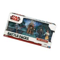 "Star Wars 3.75"" Battle Pack Asst - Jedi Showdown"
