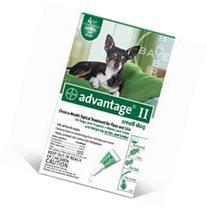 Bayer Advantage II, Dog, under 10 lbs, 6pk