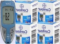 Bayer Contour Test Strips 200 & Meter Sold By Diabetic