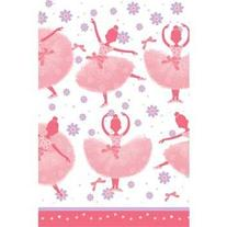 Creative Converting BB021332 Ballerina Table Cover