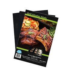 Grill Master Mats BBQ Grill Mats, Set of 2