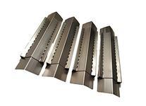 Set of 4 BBQ Gas Grill Heat Plate, Heat Shield, Heat Tent,