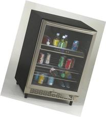 Avanti BCA5448 Beverage Cooler With Glass Door LED Interior