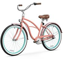 "sixthreezero Women's 3-Speed Beach Cruiser Bicycle, 17""/One"