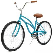Critical Cycles Women's Beach Cruiser 1-Speed Bike,