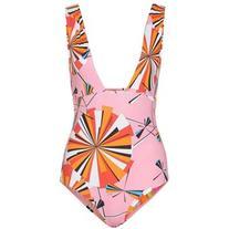 Emilio Pucci Beach Reversible Printed Swimsuit