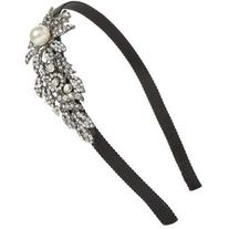 Women's Tasha Bead & Crystal Flower Headband