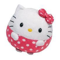 Ty Beanie Ballz 14 Inch HUGE Mega Plush Hello Kitty + Free