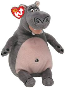 TY Beanie Baby Madagascar - Gloria-Hippo