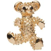 John Lewis Bear Brooch, Gold