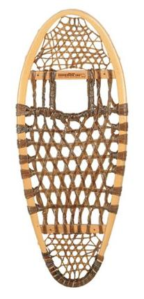 GV Snowshoes Bear Paw Rawhide Snowshoes, 12x30