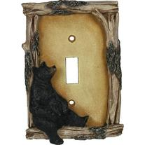 River's Edge Products Bear Switch Plate Cover