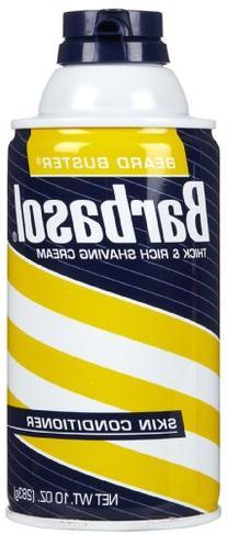 Barbasol Beard Buster Shaving Cream Skin Conditioner 10 oz
