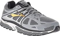 Brooks Men's Beast 14 Silver/Black/Gold Sneaker 11 D