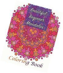 Beautiful Beginner Mandalas Coloring Book