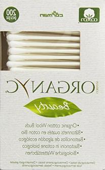 Organyc Beauty Organic Cotton Swabs - 200 Swabs