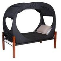 Privacy Pop Bed Tent  - BLACK