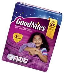 Goodnites Bedtime Underwear 31 CT