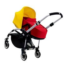 Bugaboo Bee3 Bassinet & Sun Canopy - Bright Yellow - Red