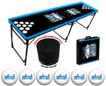 8-Foot Professional Beer Pong Table w/ Bluetooth Speaker,