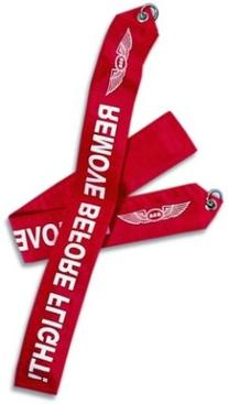 "17"" ASA Remove Before Flight Banner"